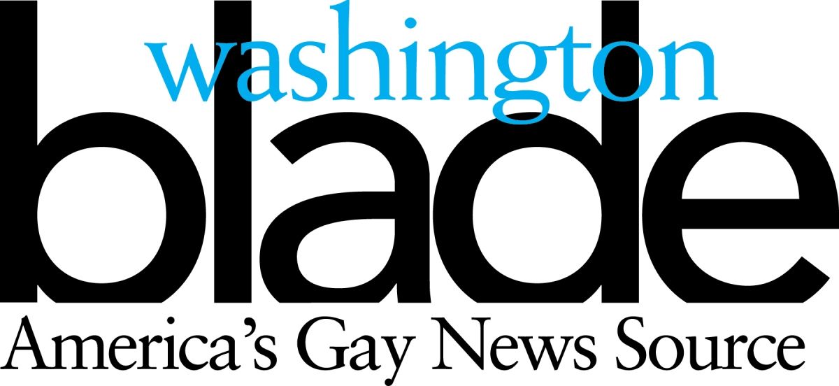 Washington Blade. America's Gay News Source Sponsor
