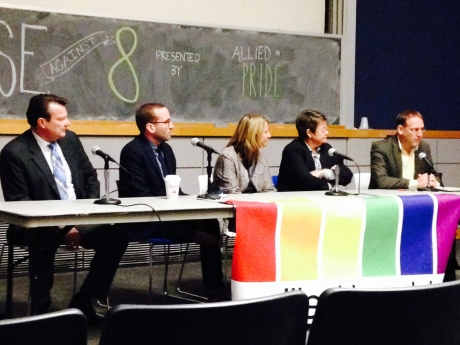 Panelists discussing Proposition 8